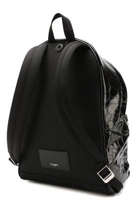 Мужской кожаный рюкзак city SAINT LAURENT черного цвета, арт. 534967/00X5F   Фото 3