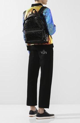 Мужской кожаный рюкзак city SAINT LAURENT черного цвета, арт. 534967/00X5F   Фото 5