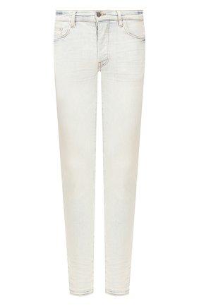 Мужские джинсы AMIRI светло-голубого цвета, арт. Y0M01201SD | Фото 1