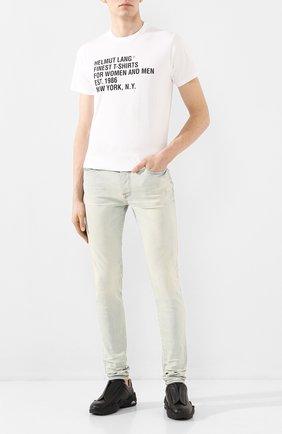 Мужские джинсы AMIRI светло-голубого цвета, арт. Y0M01201SD | Фото 2
