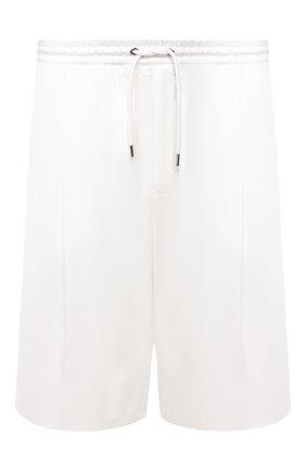 Мужские хлопковые шорты GIORGIO ARMANI белого цвета, арт. 9SGPB003/T01MP | Фото 1