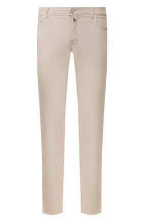 Мужские брюки KITON бежевого цвета, арт. UPNJSJ07S73 | Фото 1