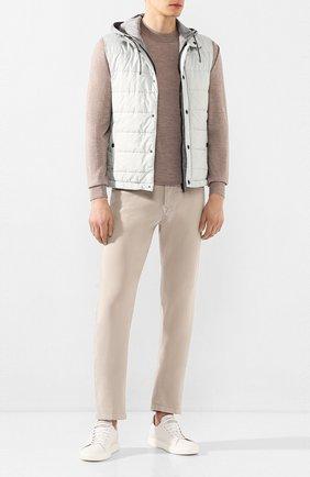 Мужские брюки KITON бежевого цвета, арт. UPNJSJ07S73 | Фото 2