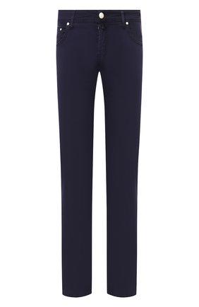 Мужские джинсы JACOB COHEN синего цвета, арт. J620 C0MF 00566-V/53 | Фото 1