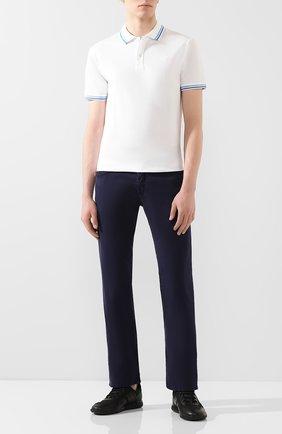 Мужские джинсы JACOB COHEN синего цвета, арт. J620 C0MF 00566-V/53 | Фото 2