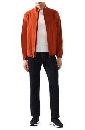 Мужская куртка LORO PIANA оранжевого цвета, арт. FAI9793 | Фото 2