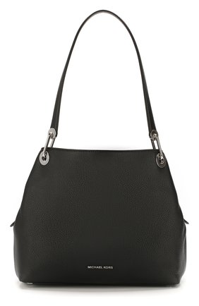 Женская сумка-тоут raven large MICHAEL MICHAEL KORS черного цвета, арт. 30H6SRXE3L   Фото 1