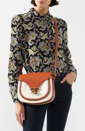 Женская сумка t singola TOD'S бежевого цвета, арт. XBWTSIC0100NWR | Фото 2