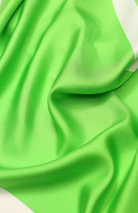 Женский шелковый платок valentino garavani VALENTINO зеленого цвета, арт. TW0EB104/MPT | Фото 2