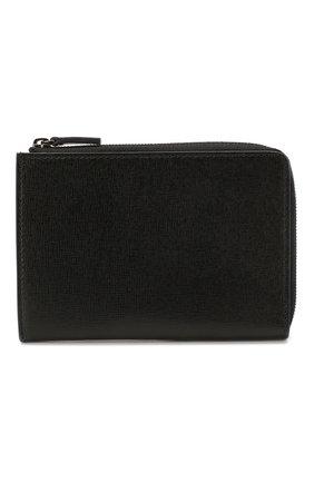 Мужская кожаный футляр для документов CANALI черного цвета, арт. P311207/NA00053 | Фото 1