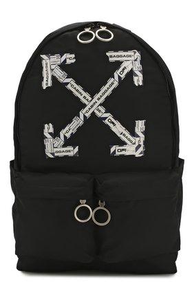 Мужской текстильный рюкзак OFF-WHITE черного цвета, арт. 0MNB003S20E480031088 | Фото 1