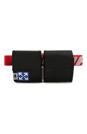 Мужская текстильная поясная сумка OFF-WHITE черного цвета, арт. 0MKN012S20H590411020 | Фото 1