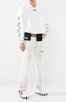 Мужская текстильная поясная сумка OFF-WHITE черного цвета, арт. 0MKN012S20H590411020 | Фото 2