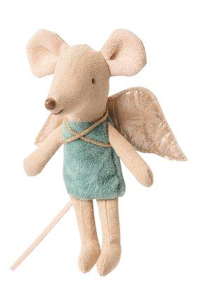 Детского мышка младшая сестра, фея MAILEG бирюзового цвета, арт. 16-9725-00 | Фото 1