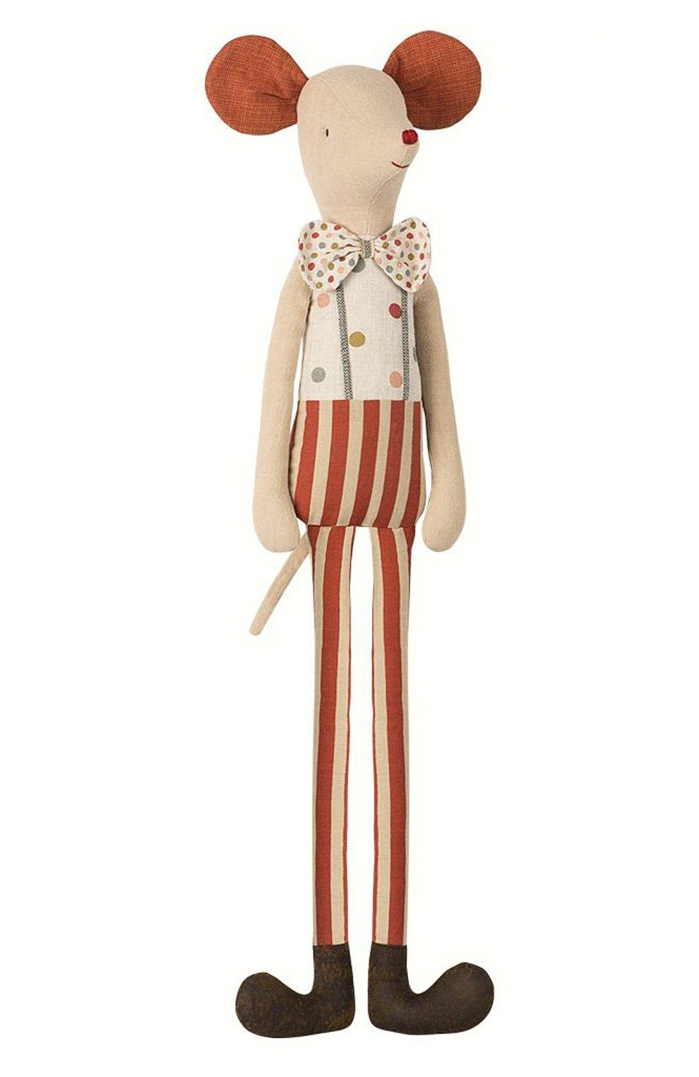 Детского игрушка мышонок клоун стилт макси MAILEG разноцветного цвета, арт. 16-8795-00 | Фото 1