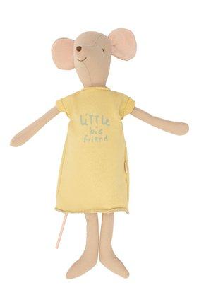Детского игрушка мышка медиум MAILEG разноцветного цвета, арт. 16-8780-01 | Фото 1