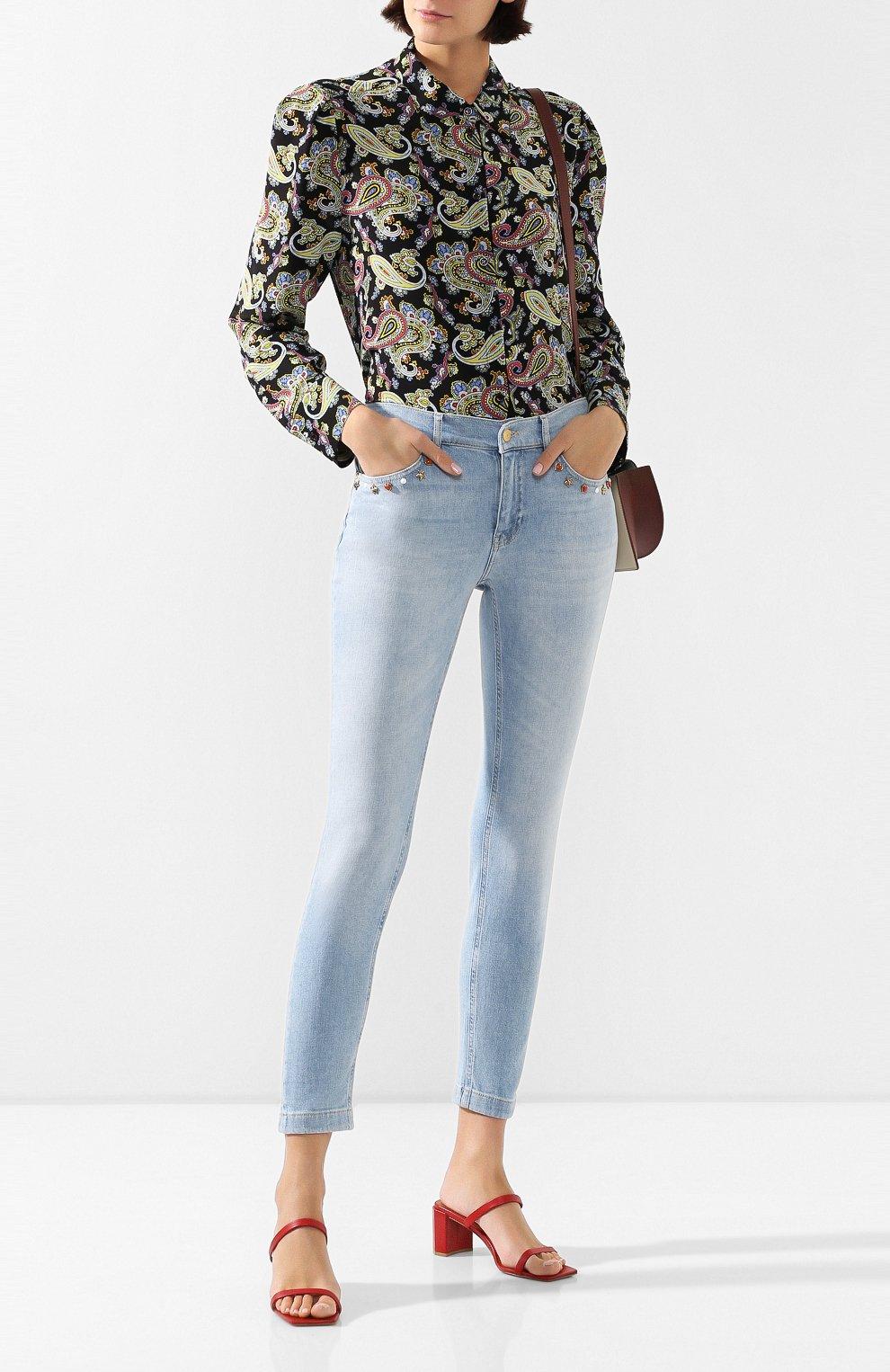 Женские джинсы ESCADA SPORT голубого цвета, арт. 5032620 | Фото 2