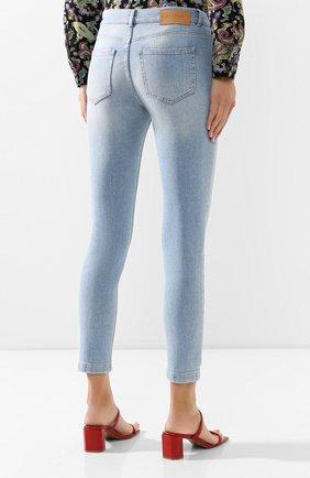 Женские джинсы ESCADA SPORT голубого цвета, арт. 5032620 | Фото 4