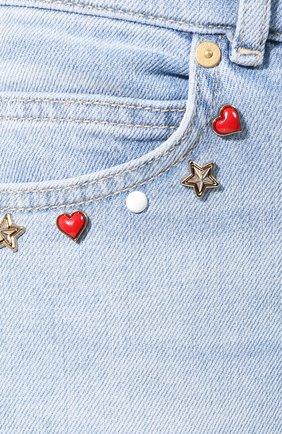 Женские джинсы ESCADA SPORT голубого цвета, арт. 5032620 | Фото 5