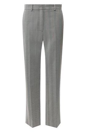 Женские шерстяные брюки RACIL серого цвета, арт. RS10-P12-W-MICHAEL   Фото 1