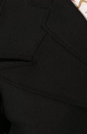 Женский шерстяной жакет PROENZA SCHOULER черного цвета, арт. R2012004-AW090 | Фото 5