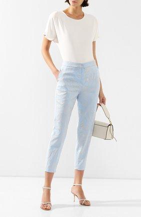 Женские брюки ESCADA светло-голубого цвета, арт. 5032940   Фото 2
