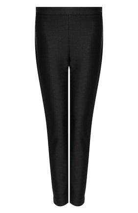 Женские брюки BRANDON MAXWELL черного цвета, арт. PT137PS20 | Фото 1