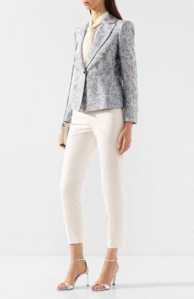 Женские укороченные брюки RALPH LAUREN бежевого цвета, арт. 290803714 | Фото 2