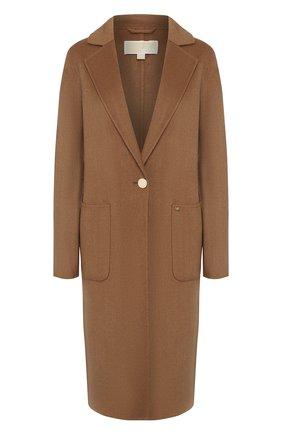 Женское пальто MICHAEL MICHAEL KORS бежевого цвета, арт. 77T4470M11 | Фото 1