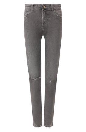 Женские джинсы EMPORIO ARMANI серого цвета, арт. 3H2J28/2D8GZ | Фото 1