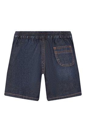 Детские джинсовые шорты GUCCI синего цвета, арт. 591306/XDAZD | Фото 2