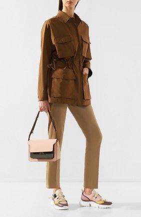Женская хлопковая куртка LORO PIANA хаки цвета, арт. FAL0828 | Фото 2