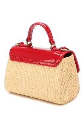 Детская сумка DOLCE & GABBANA красного цвета, арт. EB0103/AW007 | Фото 2