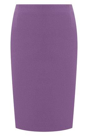 Женская юбка BOSS фиолетового цвета, арт. 50409644 | Фото 1