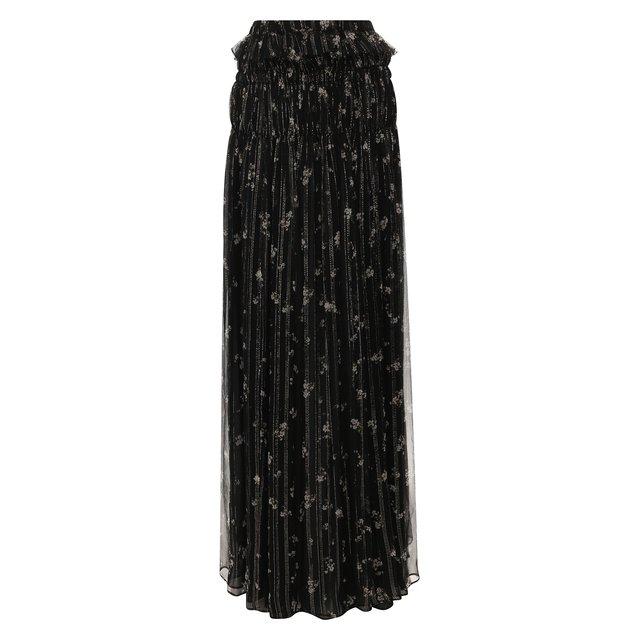 Шелковая юбка Amiri
