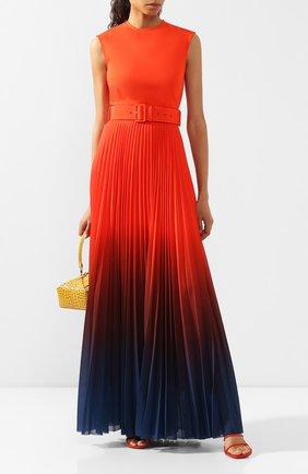 Женское платье SOLACE оранжевого цвета, арт. 0S25109 | Фото 2