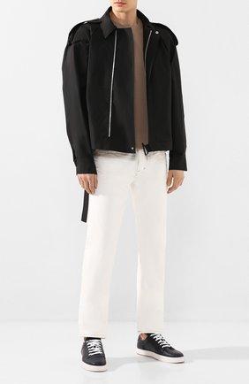 Мужская хлопковая куртка BOTTEGA VENETA черного цвета, арт. 618490/VKPB0 | Фото 2