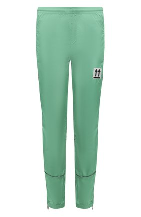 Мужской джоггеры OFF-WHITE зеленого цвета, арт. 0MCA123S20A230204400 | Фото 1