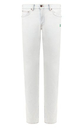 Мужские джинсы OFF-WHITE светло-голубого цвета, арт. 0MYA011S203860247144 | Фото 1