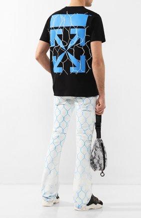 Мужские джинсы OFF-WHITE голубого цвета, арт. 0MYA059S20H410307131 | Фото 2