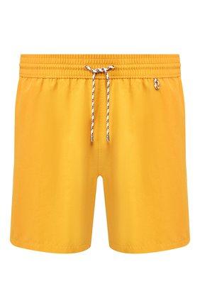 Детского плавки-шорты LORO PIANA желтого цвета, арт. FAG1762 | Фото 1