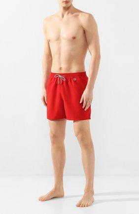 Мужские плавки-шорты LORO PIANA красного цвета, арт. FAG1762 | Фото 2
