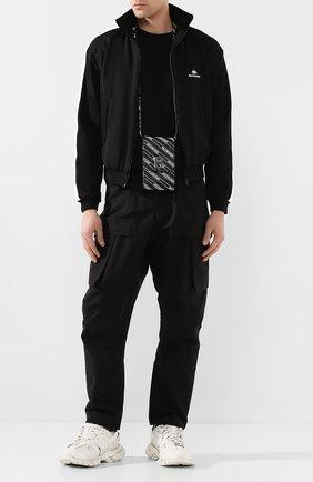 Мужская толстовка BALENCIAGA черно-белого цвета, арт. 601727/TGV04 | Фото 2