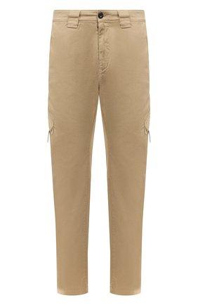 Мужской хлопковые брюки-карго C.P. COMPANY темно-бежевого цвета, арт. 08CMPA209A-005694G | Фото 1