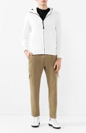 Мужской хлопковые брюки-карго C.P. COMPANY темно-бежевого цвета, арт. 08CMPA209A-005694G | Фото 2