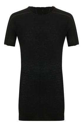 Мужская хлопковая футболка MASNADA черного цвета, арт. M2452 | Фото 1