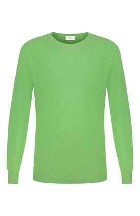 Мужской хлопковый джемпер ALTEA зеленого цвета, арт. 2051010   Фото 1