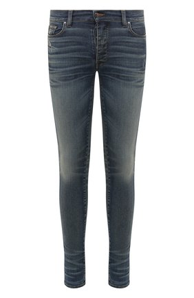 Мужские джинсы AMIRI темно-синего цвета, арт. Y0M01201SD | Фото 1