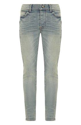 Мужские джинсы AMIRI синего цвета, арт. Y0M01397SD | Фото 1