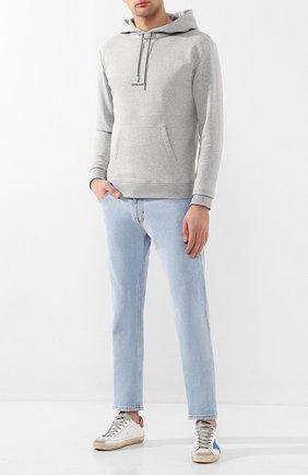 Мужские джинсы VERSACE JEANS COUTURE голубого цвета, арт. A2GVA0SH-VUP500/A0B53 | Фото 2